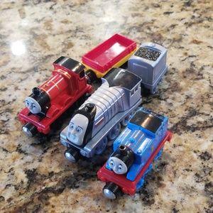 Thomas, Spencer and James Trains
